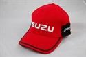 Picture of ISUZU RED/BLACK BASEBALL CAP [ISZ148]